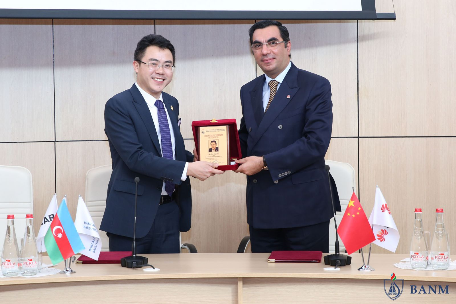 Bhos Baku Higher Oil School Starts Cooperation With Huawei Company