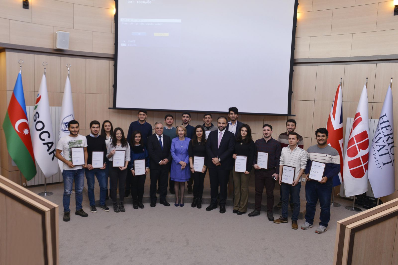 BHOS - ABB Training Centre is opened at Baku Higher Oil School